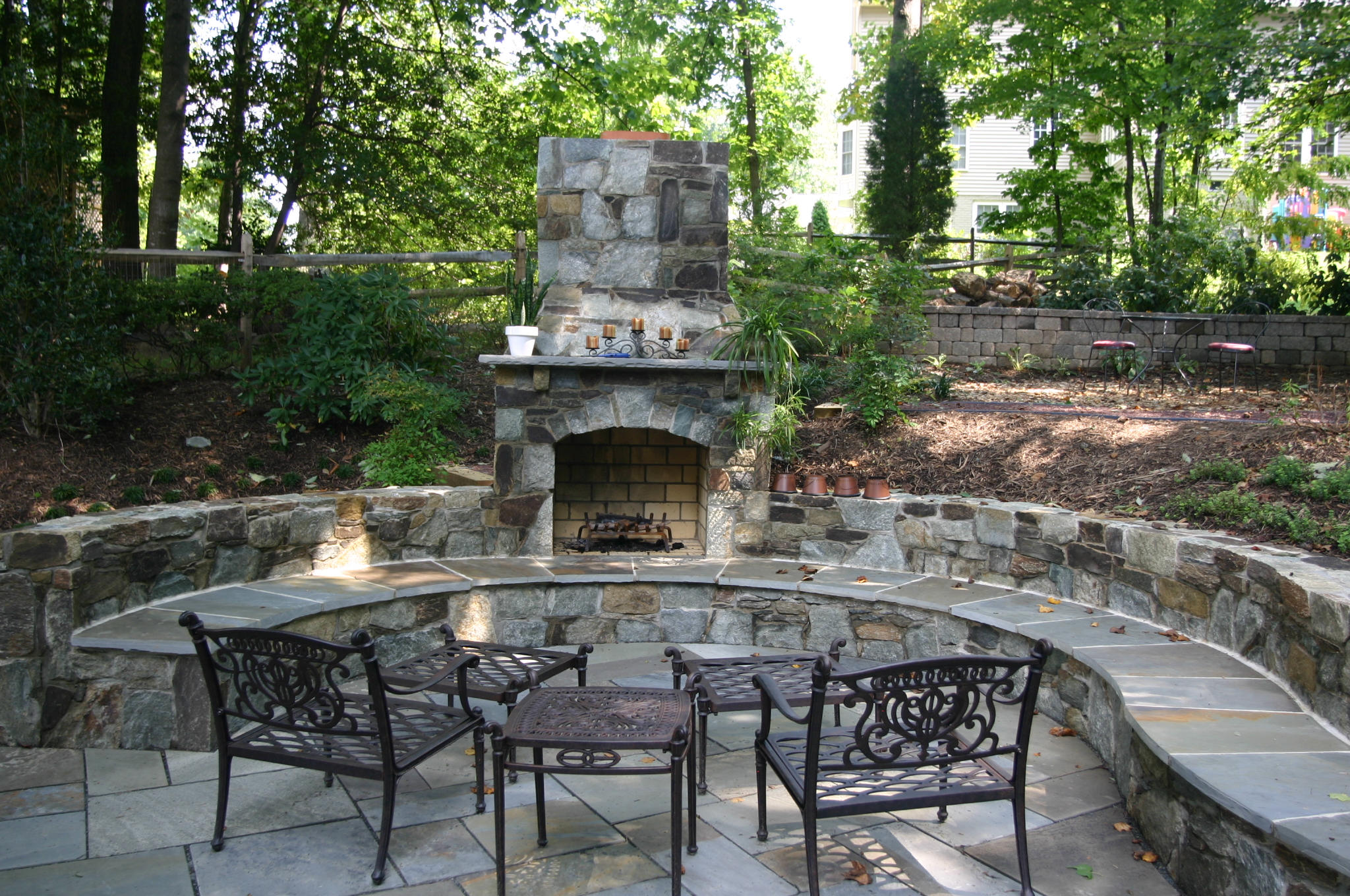 Should I Build a Fire Pit or a Fireplace Revolutionary
