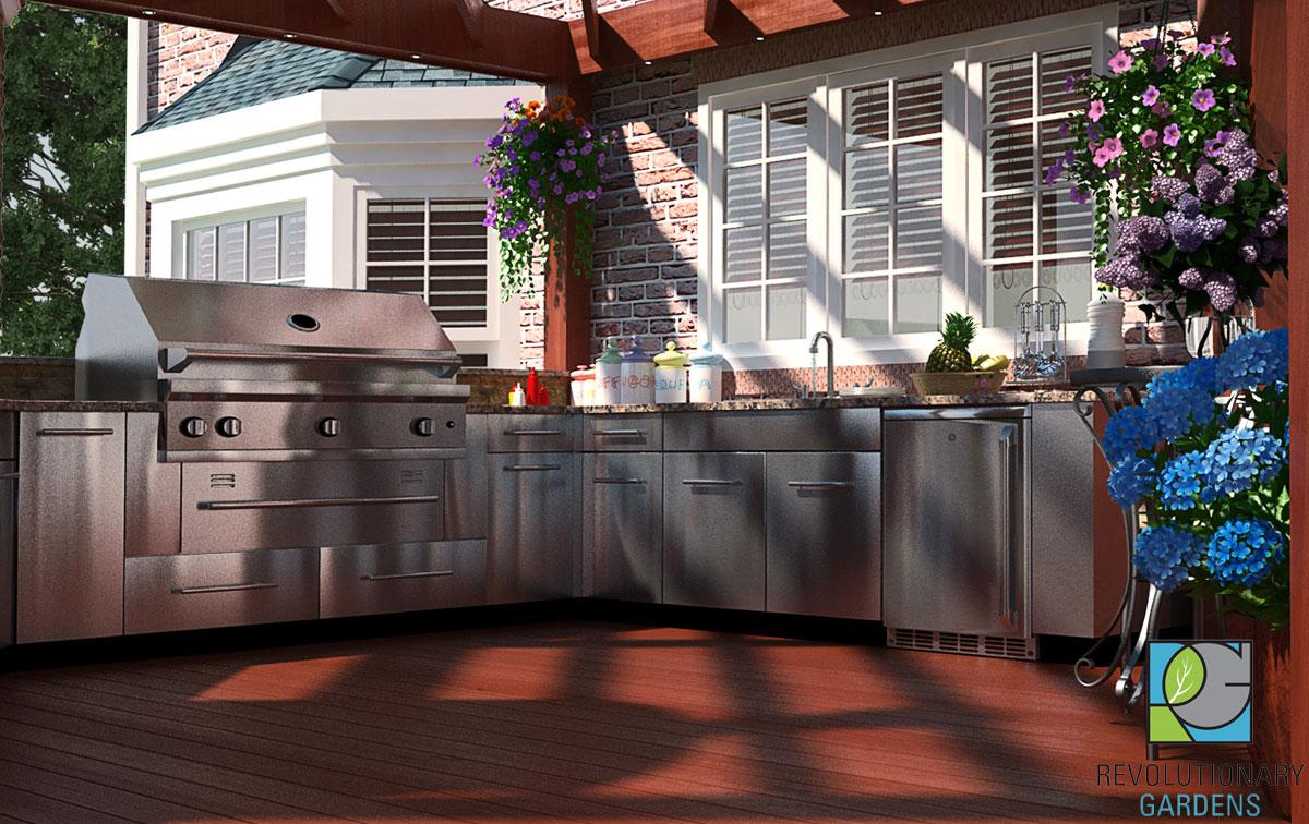 Virginia Outdoor Kitchen Design